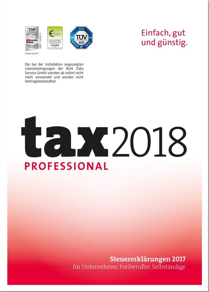 tax 2018 Professional ESD - Best4software
