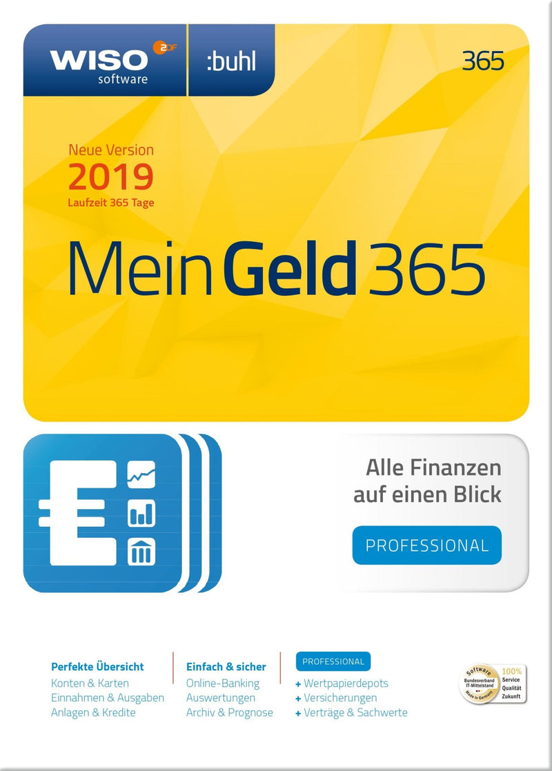 WISO Mein Geld 365 Professional ESD - Best4software