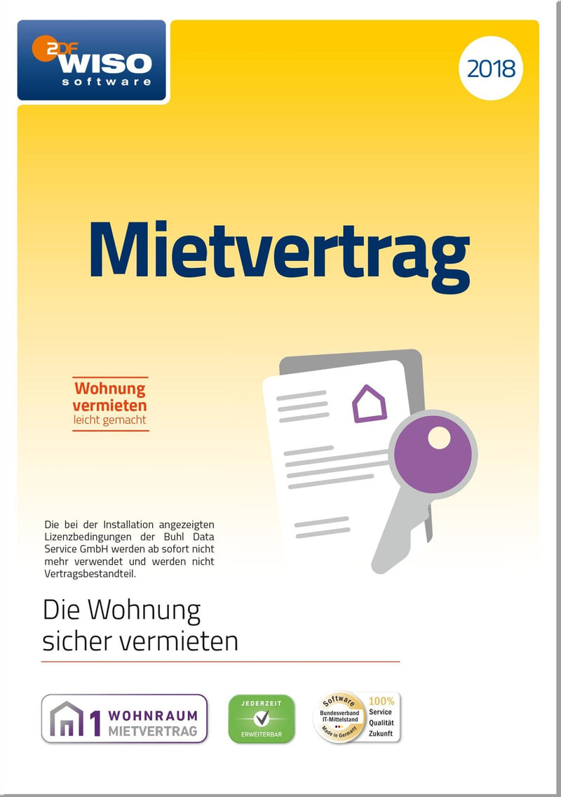 WISO Mietvertrag 2018 ESD - Best4software