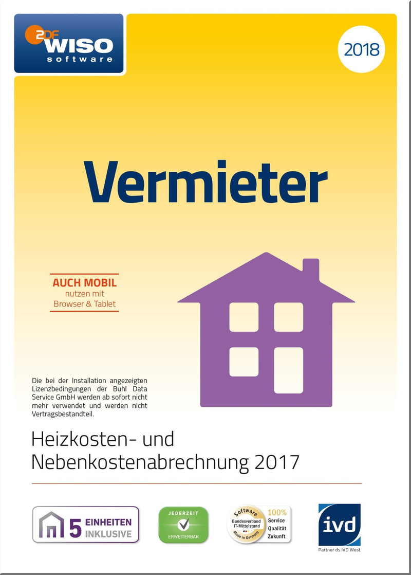 WISO Vermieter 2018 ESD - Best4software