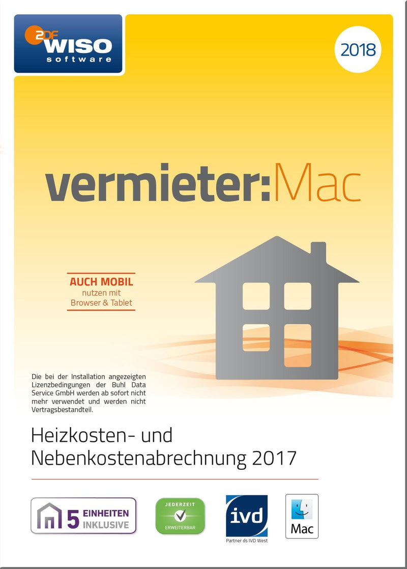 WISO vermieter:Mac 2018 ESD - Best4software