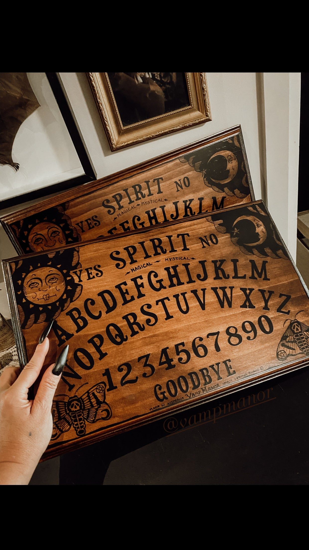 Vamp Manor Spirit Serving Board