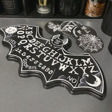 Load image into Gallery viewer, Bat Ouija Plaque