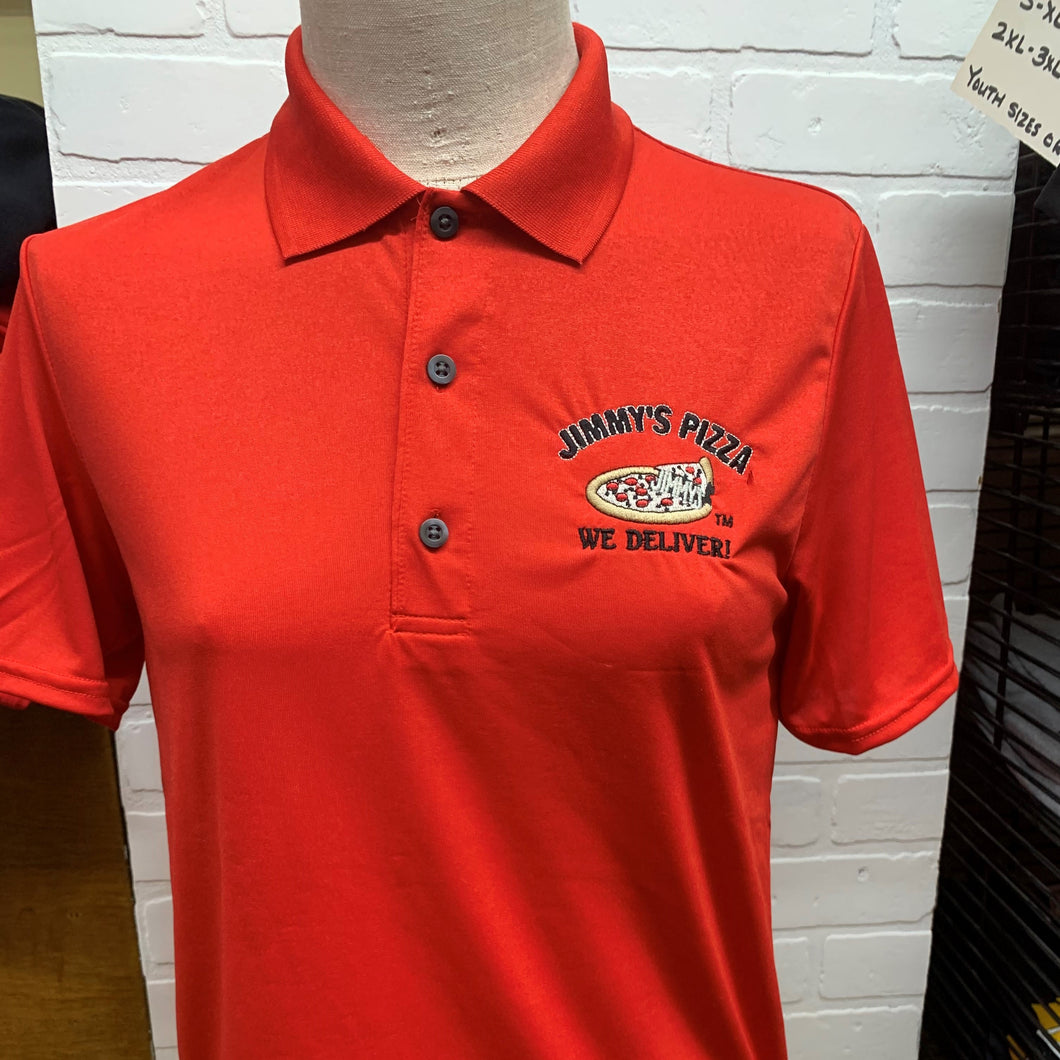 Jimmy's Pizza Polo Shirt