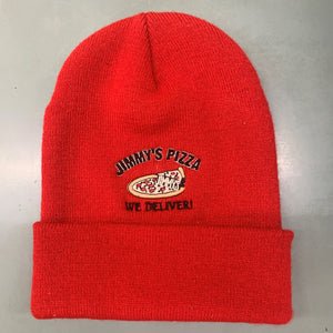 Jimmy's Pizza Embroidered Stocking Hat