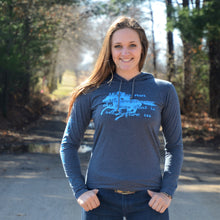 Load image into Gallery viewer, Run The Race Ladies T-Shirt Hoodie