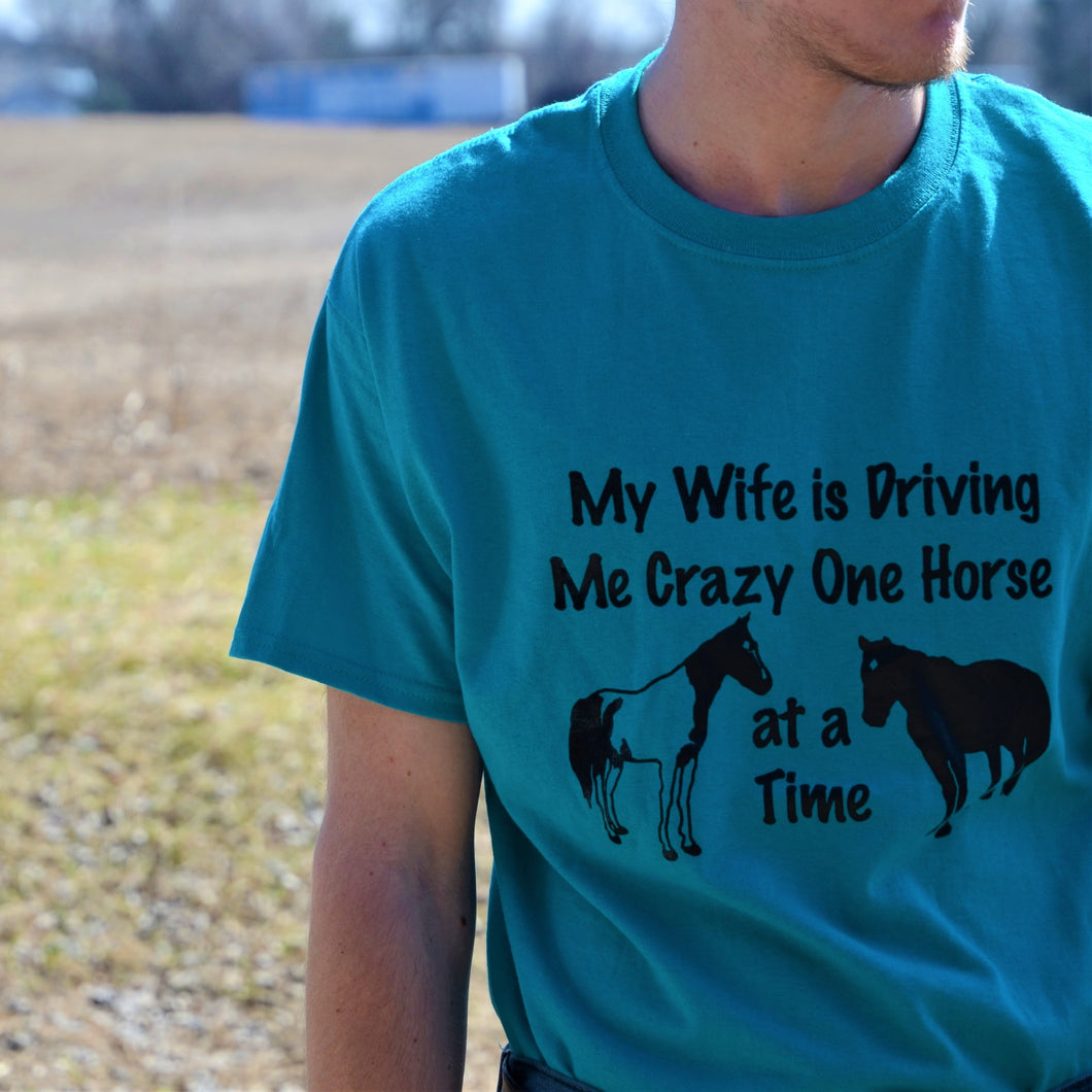 My Wife is Driving Me Crazy T-Shirt