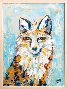 Fritz Fox by Lori Burke - SOLD