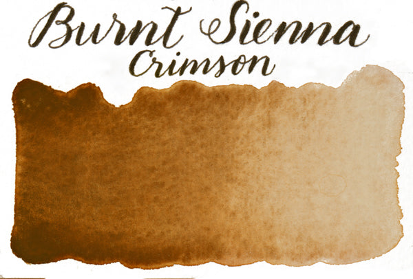 Stoneground - Burnt Sienna Crimson Shade (Earth Colour - Half Pan)