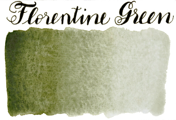 Stoneground - Florentine Green (Earth Colour - Half Pan)