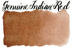 Stoneground - Genuine Indian red (Earth Colour - Half Pan)