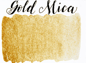 Stoneground - Gold Mica (Metallic Colour - Half Pan)
