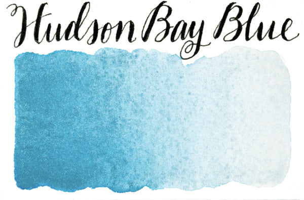 Stoneground - Hudson Bay Blue (Pearlescent Colour - Half Pan)