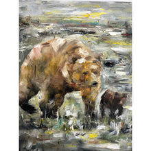 Load image into Gallery viewer, Oil Animals by Moses Salihou
