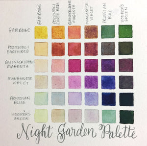 Stoneground Small Night Garden Palette