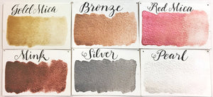 Stoneground Small Metallic Palette