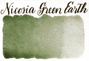 Stoneground - Nicosia Green Earth (Earth Colour - Half Pan)