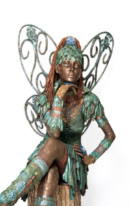 Life size Fairy Garden Sculpture