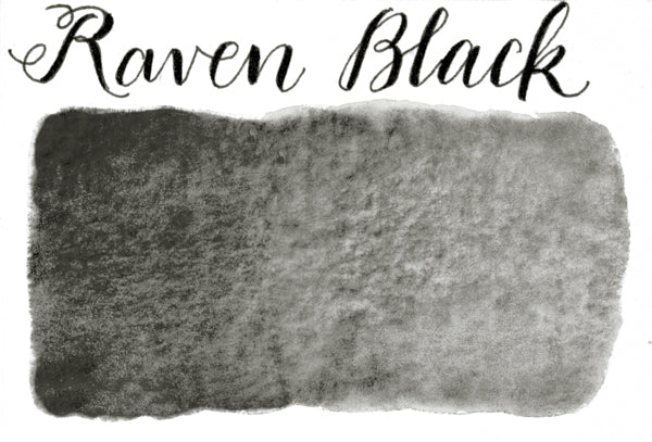 Stoneground - Raven Black (Pearlescent Colour - Half Pan)