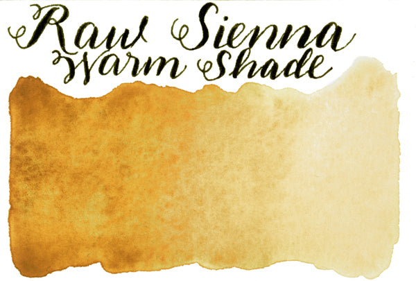 Stoneground - Raw Sienna Warm Shade (Earth Colour - Half Pan)