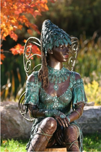 Load image into Gallery viewer, Life size Fairy Garden Sculpture