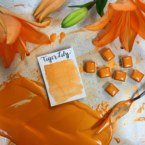 Stoneground - Tiger Lily (Pearlescent Colour - Half Pan)