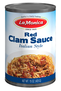LaMonica Red Clam Sauce 15 oz