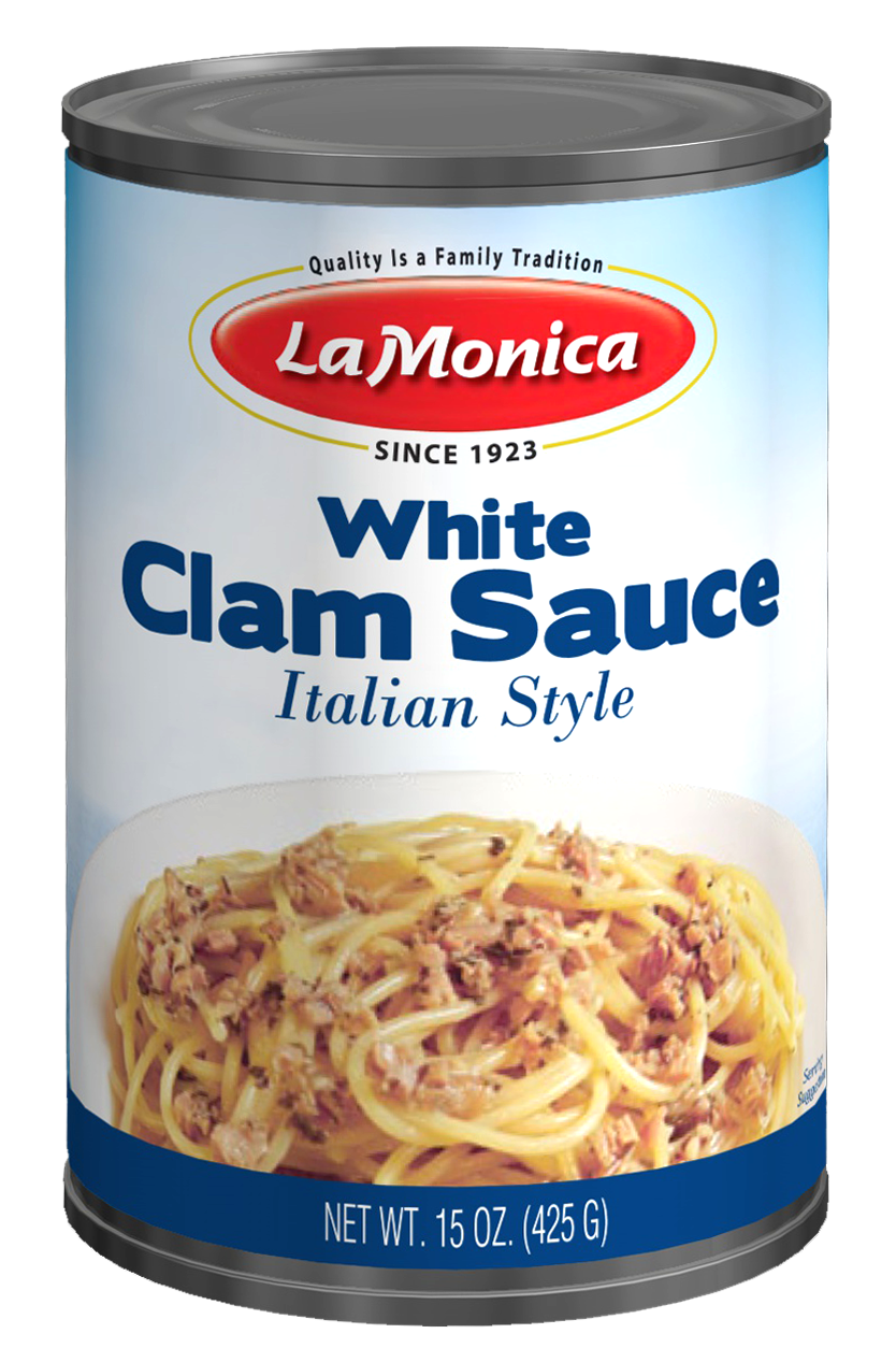 LaMonica White Clam Sauce 15 oz