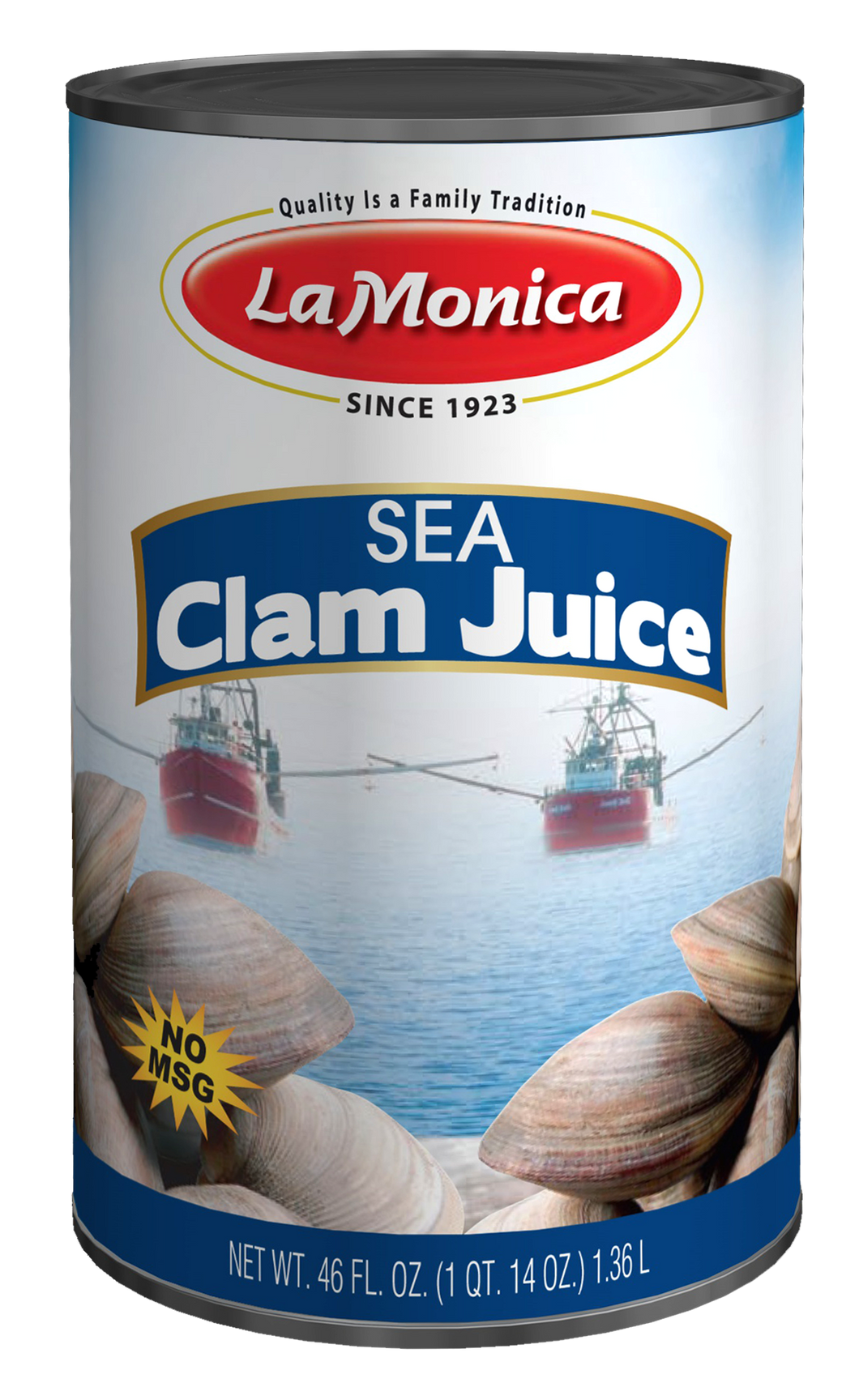 LaMonica Sea Clam Juice 46 oz