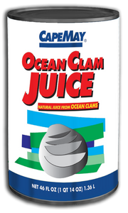 Cape May Ocean Clam Juice  46 oz