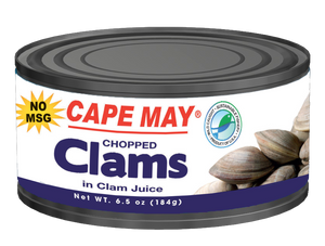 Cape May Chopped Clams 6.5 oz