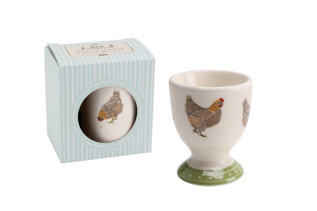 Holly House Chicken Egg Cup
