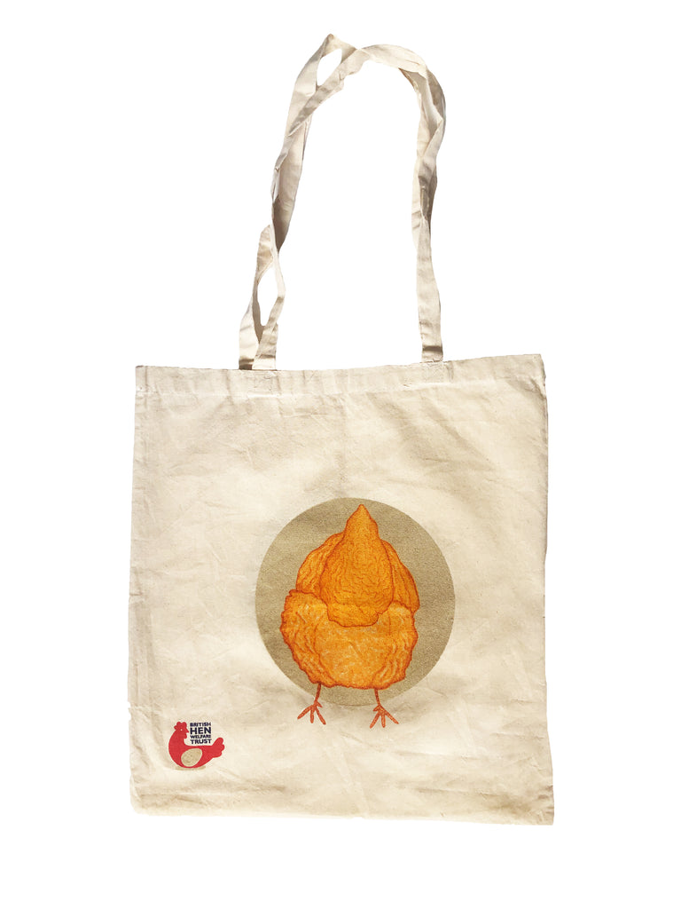 BHWT Tote Bag Happy Hens and Fluffy Butts Design
