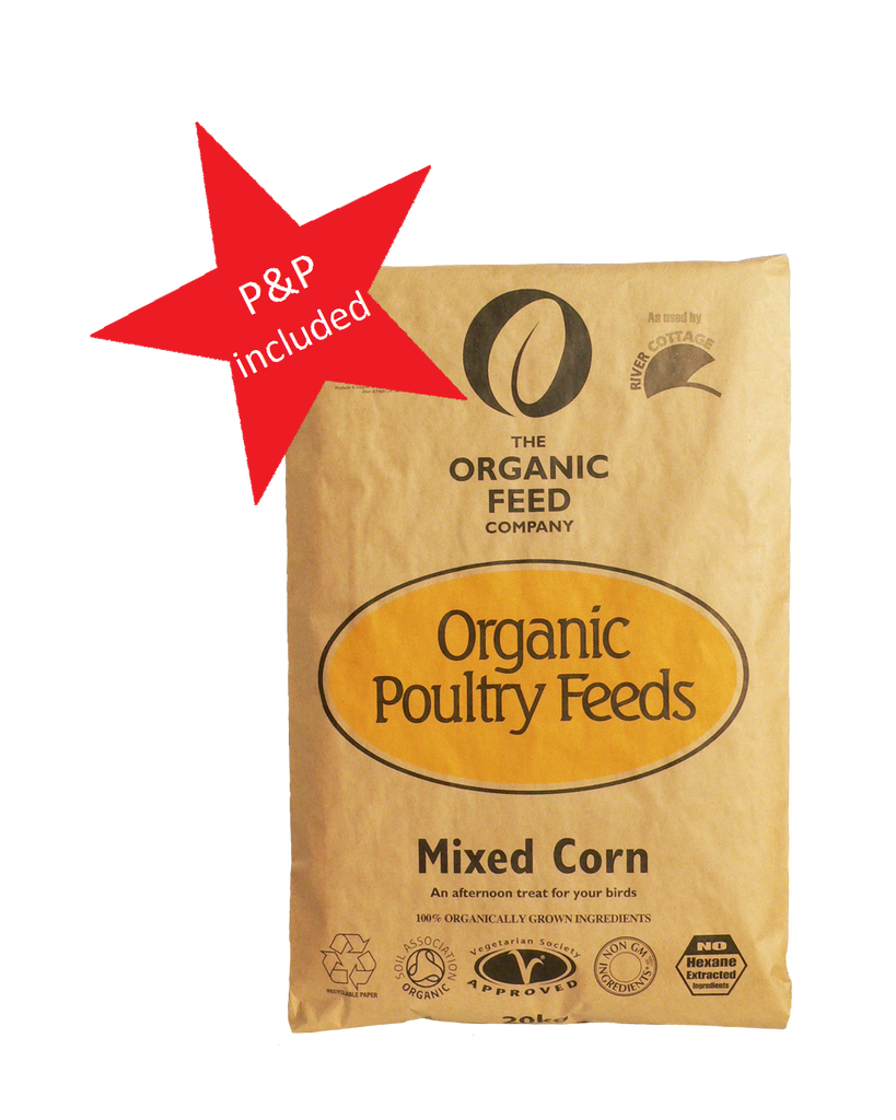 Organic Mixed Corn - postage included