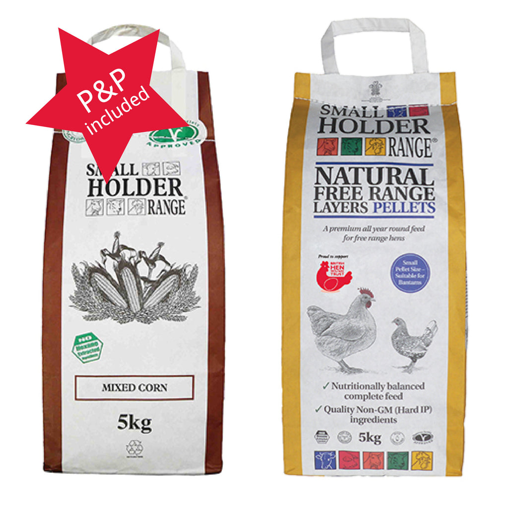 Chicken Feed Pic 'n Mix 2 X 5kg Bags