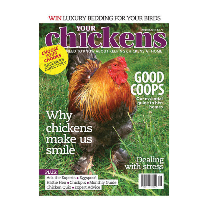 Your Chickens Subscription offer SAVE 32%