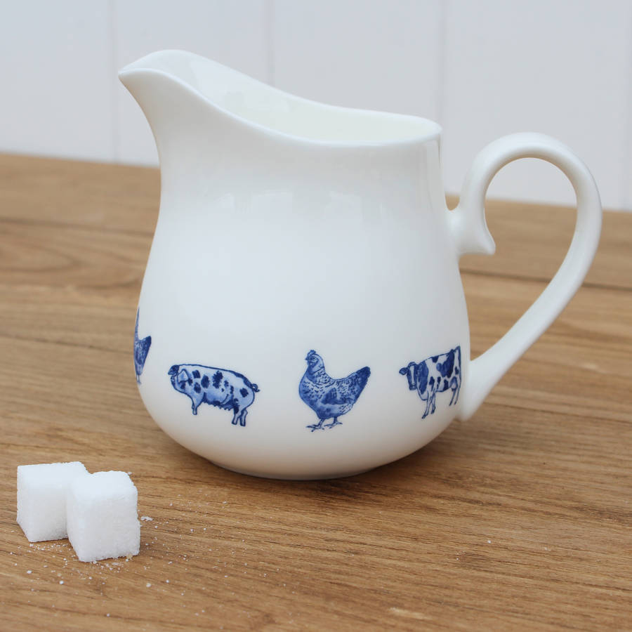 Farm Animals Small Jug