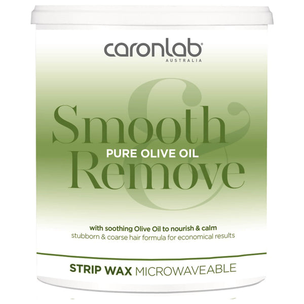 Caronlab Pure Olive Oil Strip Wax Microwaveable (800g)