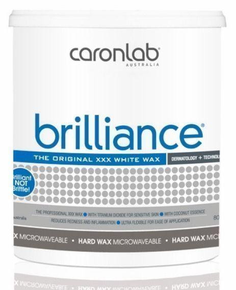 Caronlab Brilliance Hard Hot Wax Microwaveable 800g
