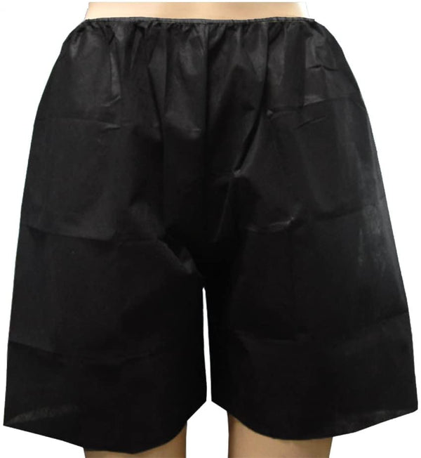 Disposable Boxer Shorts BLK 8pk