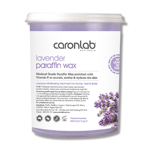 Caronlab Paraffin Wax Lavender 800ml