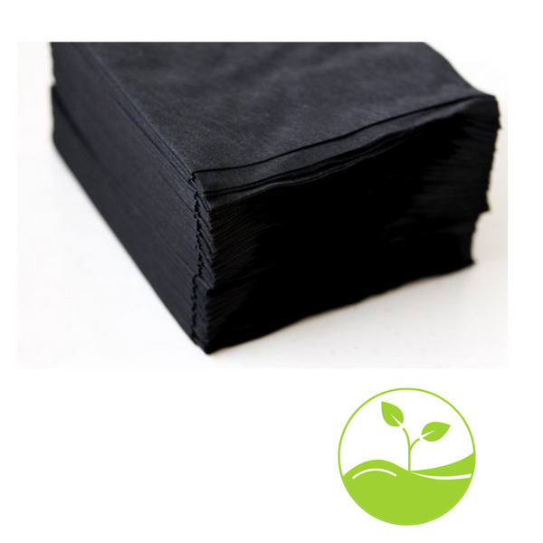 Oz E Eco Friendly Large Black Spa Towels 140cm x 80cm