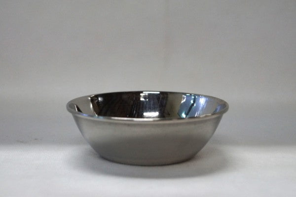 Stainless Steel Round Bowl - 10cm or 16cm