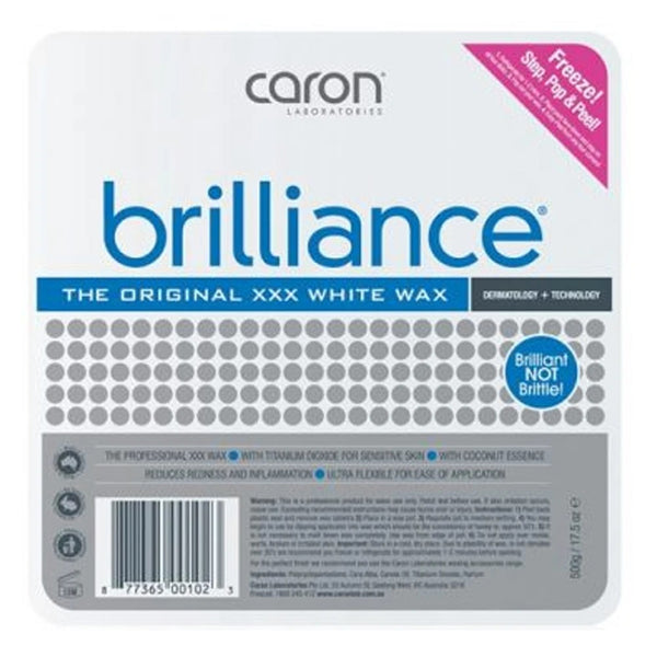 Caronlab Brilliance Hard Hot Wax Pallet Tray 500g