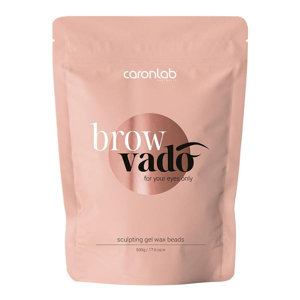 Caronlab Browvado Sculpting Gel Wax Beads (500g)