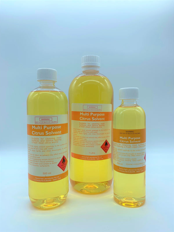Citrus Wax Surface and Equipment Solvent