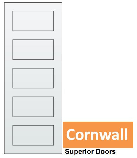 Cornwall - Steel Insert EPS Solid Core