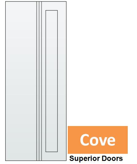 Cove - Steel Insert EPS Solid Core
