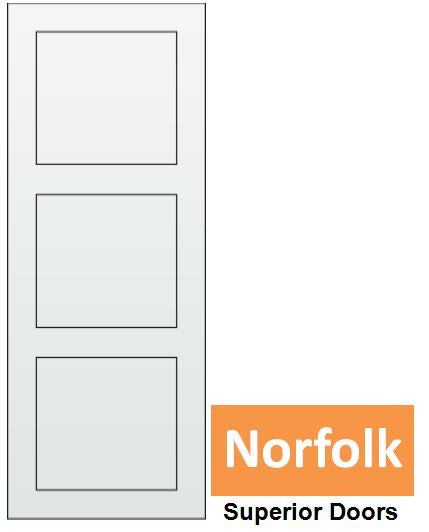 Norfolk - Steel Insert EPS Solid Core