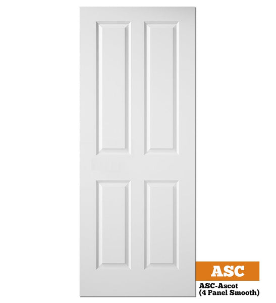 Moulded Panel Smooth Ascot (4 Panel Smooth) - Solid Core